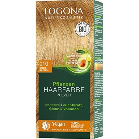 LOGONA Naturkosmetik - Tinte para el cabello en polvo 020 ...