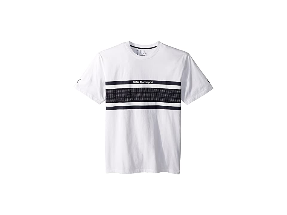 PUMA BMW Motorsport Oversize Tee (PUMA White) Men