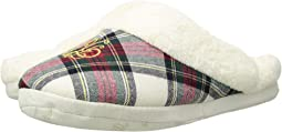 Cotton Brushed Twill & So Soft Fleece Lining Slippers