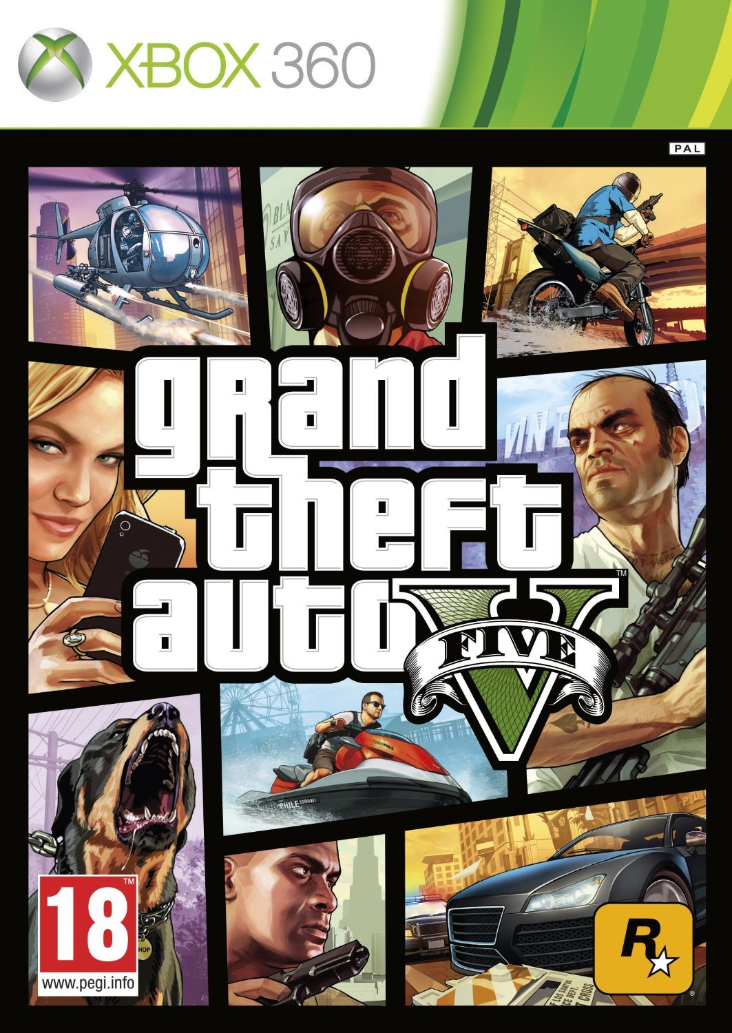 Grand Theft Auto V (GTA V): Amazon.es: Videojuegos