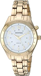 Armitron Women's Backlight Function Two-Tone Bracelet Watch