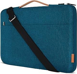 """DOMISO 15.6 Zoll Laptop Tasche Hülle Wasserdicht Stoßfestes Notebook Sleeve Case Schultertasche für 15.6"""" HP 15/ThinkPad E..."""