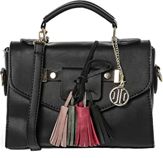 Inoui Crossbody Bag for Women  Black
