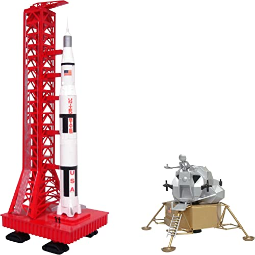 Apollo Saturn Rocket & Lunar Module - Bausatz 1 400 & 1 96
