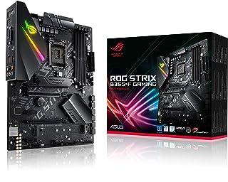 يدعم الألعاب ASUS ROG STRIX B365-F الجيل التاسع والثماني مع تقنية Aura Sync RGB، وDual M.2، وDisplayPort، وHDMI وDVI، وSAT...