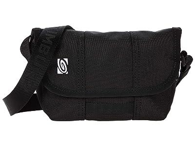 Timbuk2 Micro Classic Messenger Bag Extra Small (Jet Black) Bags
