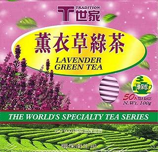 Lavender Green Tea 50 Tea Bags