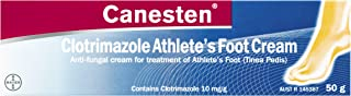 Canesten Athlete's Foot Cream, 50g