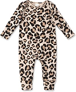 Baby Romper with Leopard Cheetah Print for Newborns to...