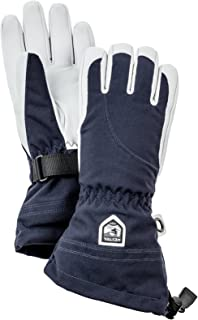 Womens Extra Warm Ski Gloves: Heli Leather Winter Cold Weather Powder Glove