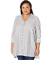 Plus Size Skye in Soft Stripe