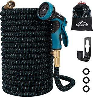 100ft Garden Hose - All New Expandable Water Hose with Double Latex Core, 3/4