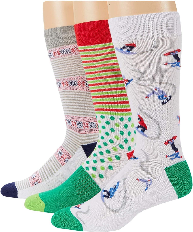 PACT Premium Organic Cotton Crew Socks 3-Pack