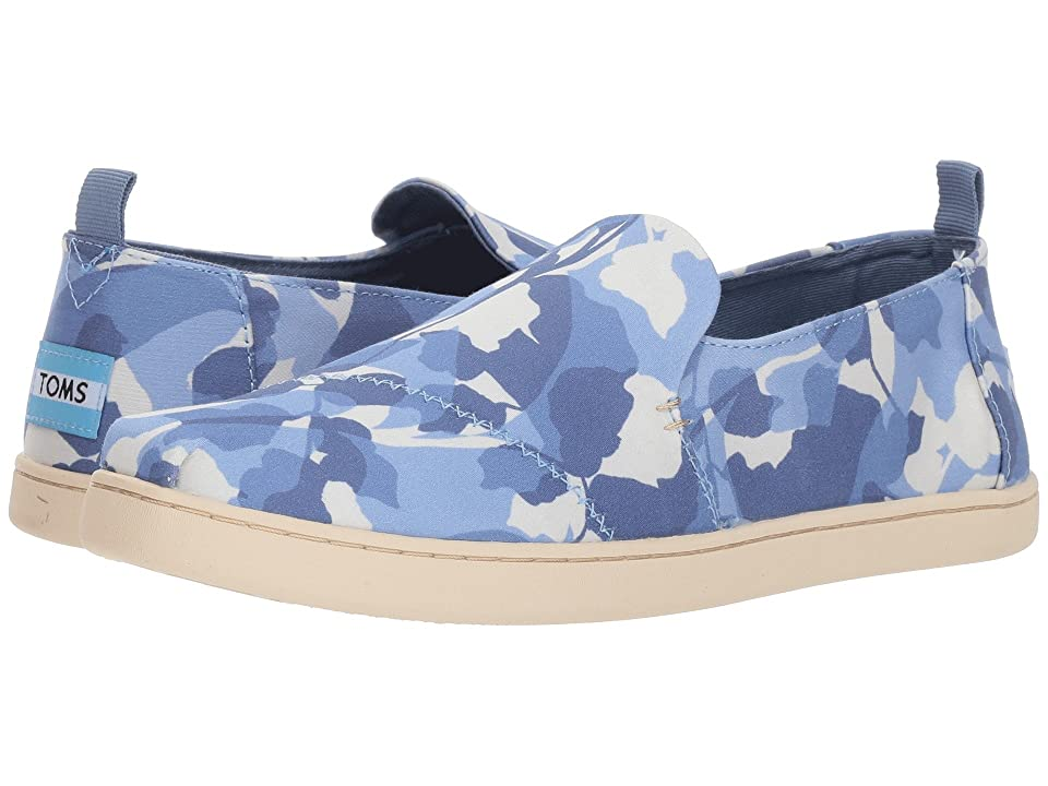 TOMS Deconstructed Alpargata (Infinity Blue Abstract Leaf) Women