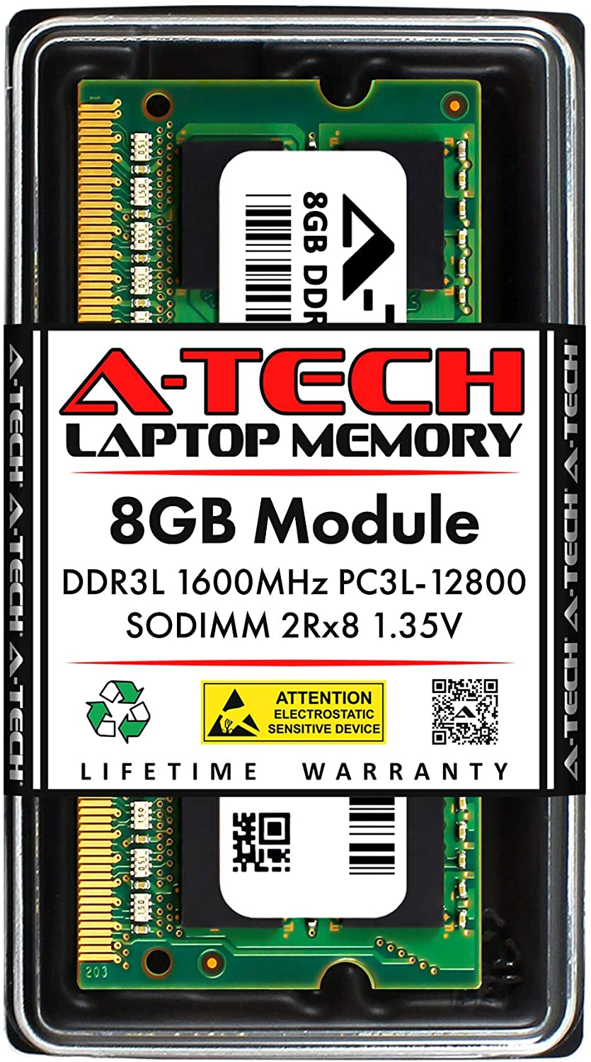 gift A-Tech 8GB Memory RAM for Dell Inspiron 2021 new DDR3L - 3000 3552 15 160