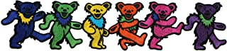 Application Grateful Dead Dancing Bears 3x8 Patch Novelty