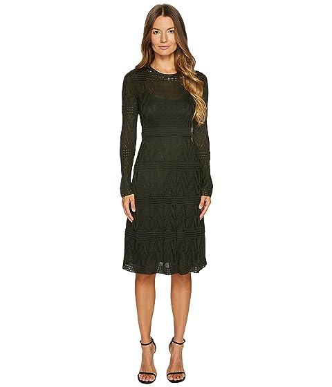 Solid Sleeve Long Knit Missoni M Dress 5qCFpZ