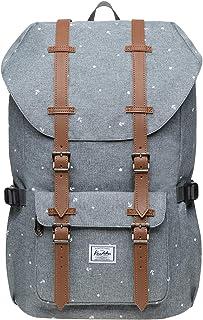 """KAUKKO Schulranzen Damen Herren Studenten 18 Zoll Backpack für 13"""" Notebook Lässiger Daypacks, 47 * 28 * 16cm, 19L, Large"""