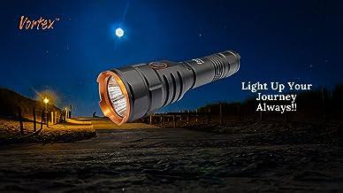 Vortex TK105R Tactical Rechargeable Mini-USB Charging RGB LED High Brightness High Power LED Dual Switch Type III Hard Ano...