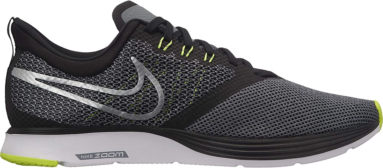 Nike Men's Zoom Strike Training shoes, Metallic Silver Cool Volt Black Grey, 11 UK