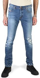Diesel Men's Slim Skinny Distressed Jeans Sleenker with abrasions Sleenker 00S7GVG 085AH 01