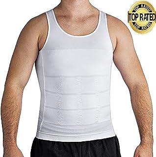 3b53d2a720cb5 Roc Bodywear Men s Slimming Body Shaper Compression Shirt Slim Fit  Undershirt Shapewear Mens Shirts Undershirts USA