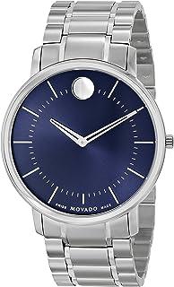 Movado - Reloj de hombre cuarzo suizo 40mm correa y caja de acero 0606688