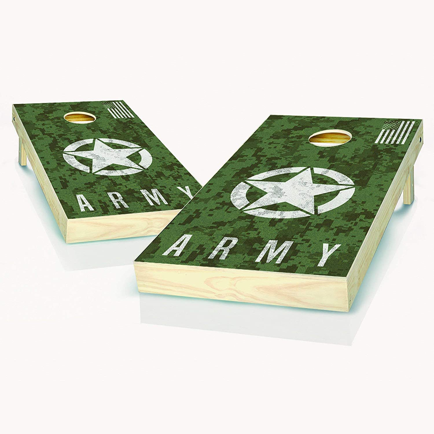 US Army Digital Free shipping on posting reviews Camo Cornhole Boards Size Regulation In 2x4 All items in the store -