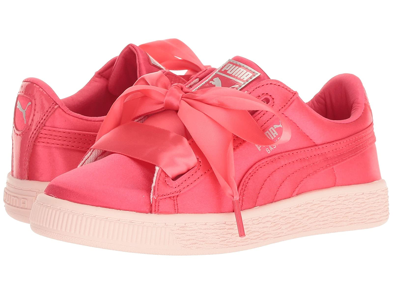 Puma Kids Basket Heart Tween PS (Little Kid/Big Kid)Atmospheric grades have affordable shoes