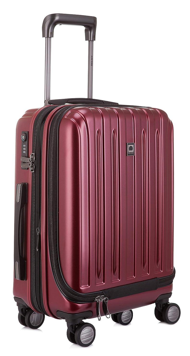 [デルセー] Delsey VAVIN スーツケース 機内持込 マット加工 拡張可 100%PC 超軽量 5年国際保証付