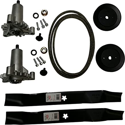 Mr mower parts deck rebuild kit for craftsman poulan Husqvarna included 2 heavy duty spindles 130794