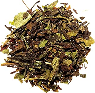 Nelson's Tea Lemon Mint Herbal Tea Caffeine Free Loose Leaf (Looseleaf) (with Peppermint leaves, lemongrass, spearmint lea...