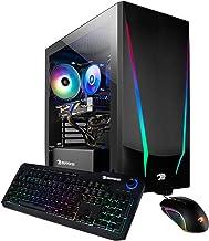 iBUYPOWER Gaming PC Computer Desktop Trace 4 9310 (AMD Ryzen 5 3600 3.6GHz, AMD Radeon RX 5500 XT 4GB, 8GB DDR4 RAM, 240GB...