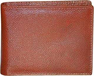 Style98 Men's Bombay Brown Genuine Leather Wallet