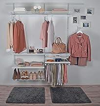 ib style® Système de ragement |Armoire de vêtement|Garde-Robe| Combinable Individuellement | DIY | Cadre Coulissant pour p...