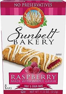 Sunbelt Bakery's Raspberry Fruit & Grain Bars, 1.4 oz Bars, 40 Count
