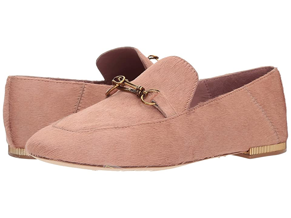 Donna Karan Debz Loafer (Pink Haircalf) Women