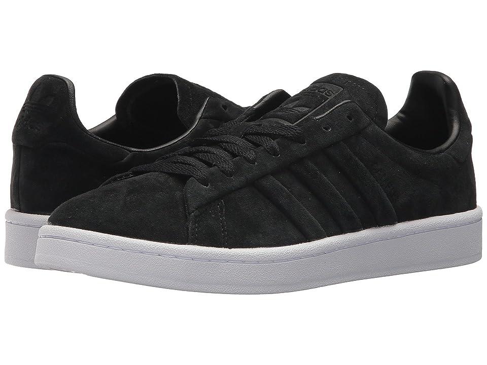 adidas Originals Campus Stitch Turn (Black/Black/White) Men