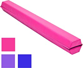 Best Choice Products 9ft Folding Medium-Density Foam Floor Balance Beam for Gymnastic and Tumbling