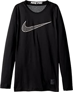 Nike Kids Pro Fitted Long Sleeve Training Top (Little Kids/Big Kids)