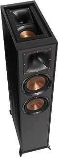 Klipsch R-625FA Powerful detailed Floorstanding Single Home Speaker Black