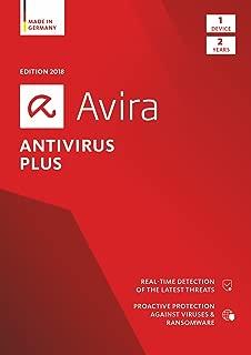Avira Antivirus Plus 2018   1 Device   2 Year   Download [Online Code]