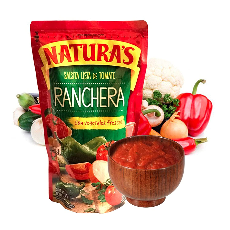 Naturas Salsa Ranchera. Salsita Lista Tomate Discount is also underway De San Francisco Mall Vegetales Con Fr