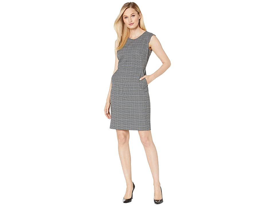Anne Klein Plaid Sheath Dress (Versailles Combo) Women