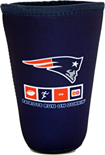 Dunkin Donuts Med Cooler Cup Holder Medium Ice Coffee New England Patriots
