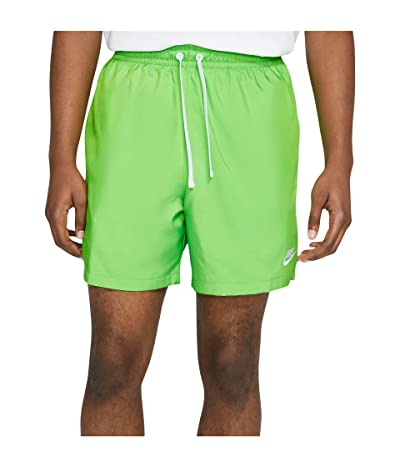 Nike NSW Woven Flow Shorts (Mean Green/White) Men