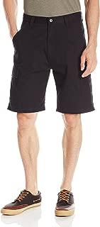 Men's Authentics Classic Twill Cargo Short, Black Twill, 33