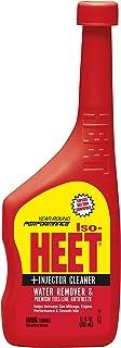 ISO-HEET 28202 Premium Fuel-line Antifreeze Water Remover and Injector Cleaner, 12 Fl oz.