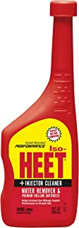 ISO-HEET 28202-24PK Premium Fuel-line Antifreeze Water Remover and Injector Cleaner, 12 Fl. oz. (Pack of 24)