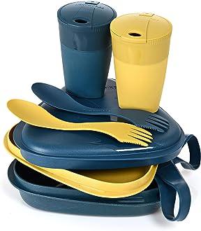 Ensemble de Vaisselle Light my Fire Micro-Ondes et Lave-Vaisselle Couverts et Boites Alimentaires r/éutilisables /à emporter en Plastique 100/% sans BPA Ideal Camping//Randonn/ées//Lunch-Box